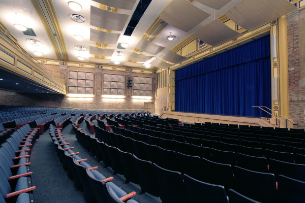 Auditorium - Fair Haven School, New Haven, CT