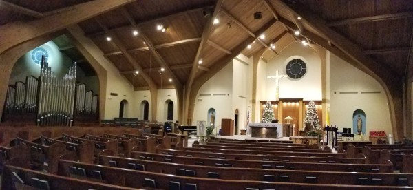 St. Cecilia Church - Wilbraham, MA - New for Christmas 2019